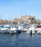 The port of Calvi